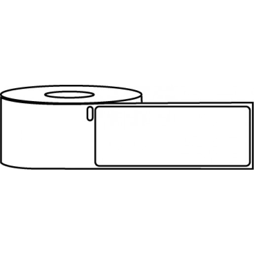 """1.125"""" x 3.5"""" Thermal Label Roll - DYMO® 30252 Compatible"""