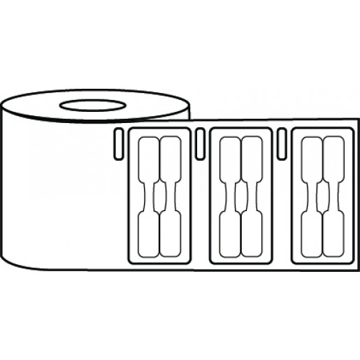 """0.375"""" x 0.75"""" Jewelry Tag Label Roll - DYMO® Compatible"""