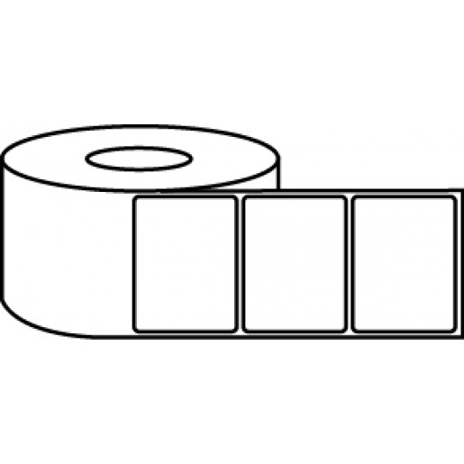 """4"""" x 3"""" Thermal Label Roll - 3"""" Core / 8"""" Outer Diameter"""