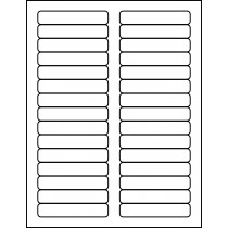 "File Folder Labels 3.4375"" x 0.67"""