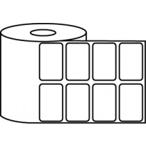 "1.5"" x 1"" Thermal Label Roll - 1"" Core / 4"" Outer Diameter"
