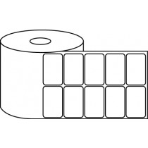 "2"" x 1"" Thermal Label Roll - 1"" Core / 4"" Outer Diameter"