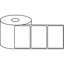 "3"" x 2"" Thermal Label Roll - 1"" Core / 4"" Outer Diameter"