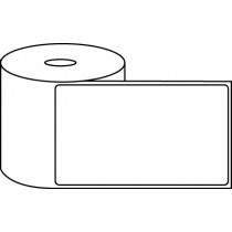 "4"" x 6"" Thermal Label Roll - 1"" Core / 4"" Outer Diameter"